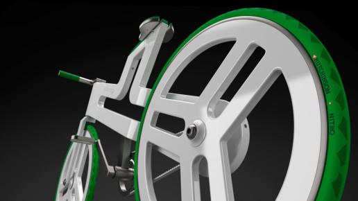 Render 3D bicicleta