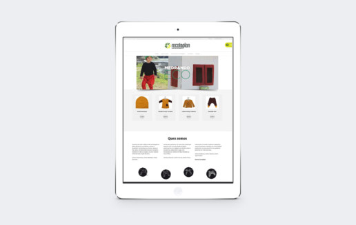 Diseño web racataplan ipad mini