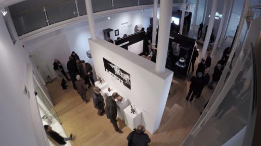 Inauguración exposición Alicerces Evolución urbana de Ourense