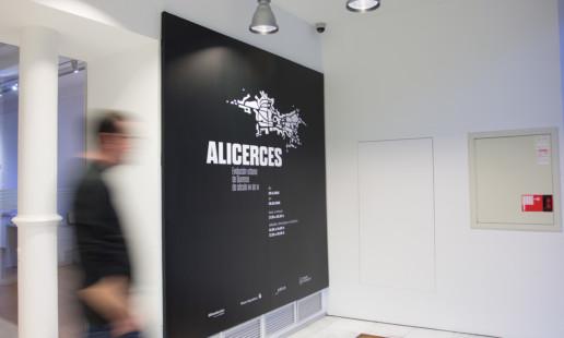 Diseño expositivo Alicerces