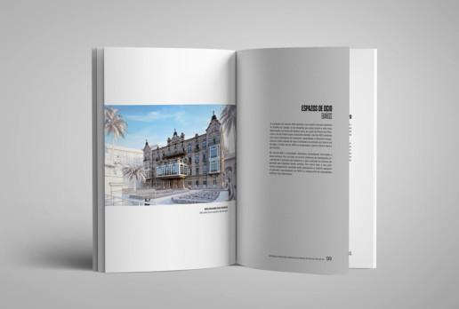 Diseño de Catálogo de la exposición Alicerces