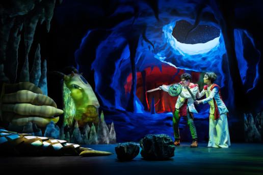 proyecciones el último dragón de Sarabela Teatro