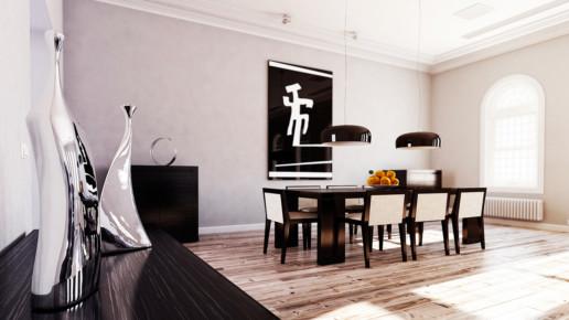 diseño 3D salón