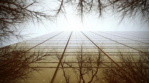 render 3D fachada edificio